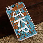 Personalized Graffiti iPhone Case with White Trim