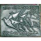 Releasing Doves Remembrance Sympathy Ornament