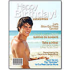 Personalized Birthday Magazine Cover