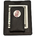 New York Mets MLB Licensed Baseball Stitch Money Clip Wallet