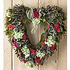 Garden Jubilee Heart Wreath