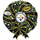 Pittsburgh Steelers Christmas Wreath