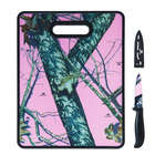 Mossy Oak Pink Cutting Board