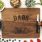 Dads BBQ Laser Engraved Personalized Cutting Board