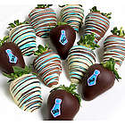 Dad and Necktie Themed Chocolate Covered Strawberries