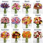 12 Months of Flower Bouquets
