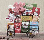 Nostalgic Chocolate and Treats Truck Gift Basket