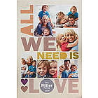 All We Need is Love Personalized Canvas Print