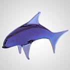 Czech Glass Dolphin