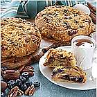 No Sugar or Salt Added Danish Coffee Cakes