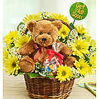 Lotsa Love Get Well Bouquet with Teddy Bear and Sweets