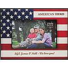 American Hero Personalized Picture Frame
