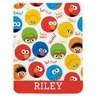 Personalized Sesame Street Sleepy Time Blanket