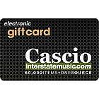 $25 Cascio Interstate Music e-Gift Card