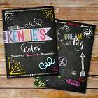 Personalized Chalkboard Notebooks