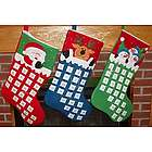 Countdown to Christmas Personalized Christmas Stocking