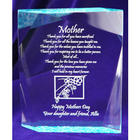 Personalized Mother's Day Crackled Plaque