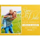 Simply in Love Personalized Photo Save the Date Cards