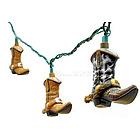 Cowboy Boot Decorative String Lights
