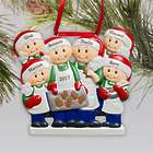 Personalized Family Baking Ornament