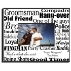 Personalized Groomsman Frame