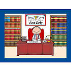Personalized Lawyer or Attorney Cartoon