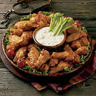 Oven Baked Chicken Wings Hot 'n Spicy - 2 1/2-lbs
