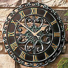 Copper Verdigris Outdoor Clock