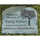 Personalized Rooted in Love Memorial Garden Marker