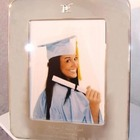 Personalized 8 x 10 Silver Graduation Picture Frame