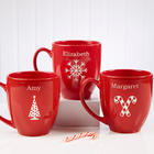 Holiday Cheer Ghiradelli Hot Cocoa and Bistro Mug Set