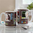 Loving You Personalized Photo Coffee Mug