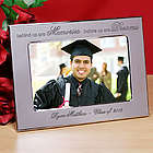 Personalized Memories and Dreams Graduation Silver Picture Frame