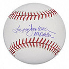 Reggie Jackson Autographed Baseball with Mr. October Inscription