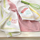 Set of 3 Cheeky Kitchen Towels
