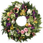 Tea Rose Wreath