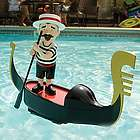 Singing Gondolier Pool Decoration