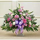 Heartfelt Tribute Floor Basket Funeral Flowers