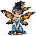 Butterfly Kisses Fairy Figurine