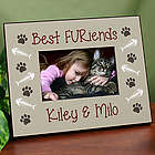 Personalized Best FURiends Printed Frame