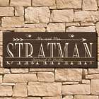 Personalized Signature Love-Struck Wooden Wall Sign