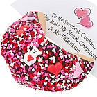 Valentine's Day Giant Fortune Cookie