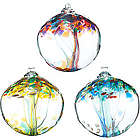 Recycled Inspirations Glass Tree Globes