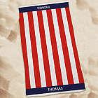 Personalized USA Pride Beach Towel