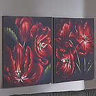 Red Flower Prints