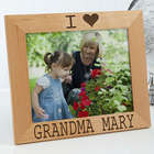 I/We Love Her Personalized 8x10 Picture Frame