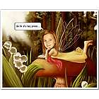 Fairy Princess Caricature Print from Photo