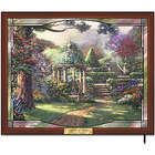 Thomas Kinkade Gazebo of Prayer Stained-Glass Wall Decor