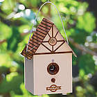 Outdoor Bark Control Birdhouse