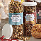 Sea Salt Caramel Popcorn Tube